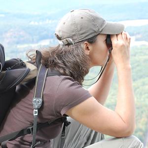 Photo of Heron's Eye Co-Founder Krista Gromalski by Sandy Long.