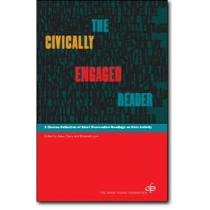 Book cover of The Civically Engaged Reader