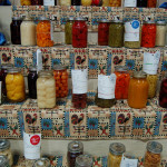 Photo of canned goods at the PA Farm Show.