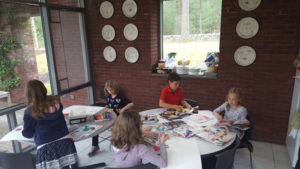 Photo of children at Take our Daughters and Sons to Work Day at The Biondo Group.