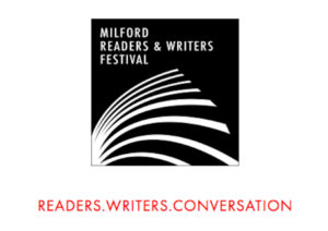 Festival logo for the 2016 Milford Readers and Writers Festival.